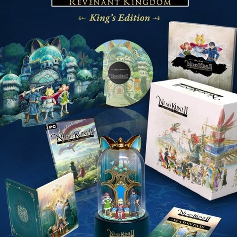 Ni No Kuni II: Revenant Kingdom King's Edition + Pre-order DLC
