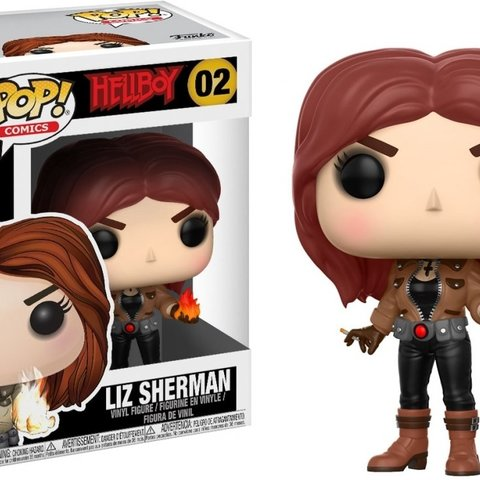 Hellboy Pop Vinyl: Liz Sherman