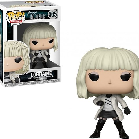 Atomic Blonde Pop Vinyl: Lorraine White Coat