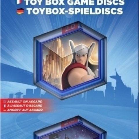 Disney Infinity 2.0 Toy Box Game Discs Marvel