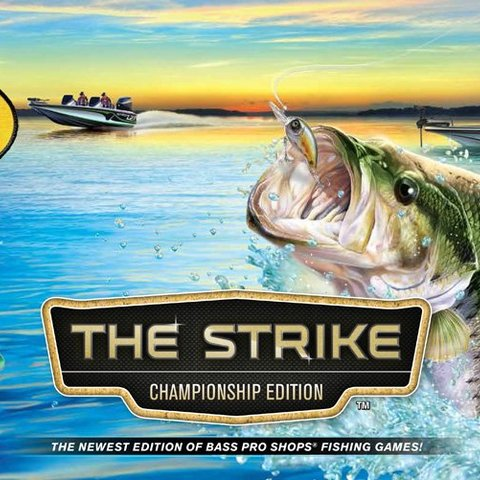 Bass Pro Shops The Strike + Fishing Rod