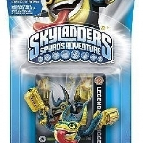 Skylanders - Legendary Trigger Happy