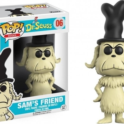 Dr. Seuss Pop Vinyl: Sam's Friend