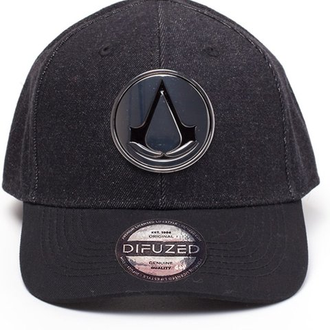 Assassin's Creed - Metal Crest Denim Curved Bill