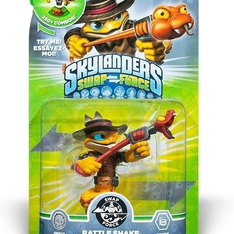 Skylanders Swap Force - Rattle Shake