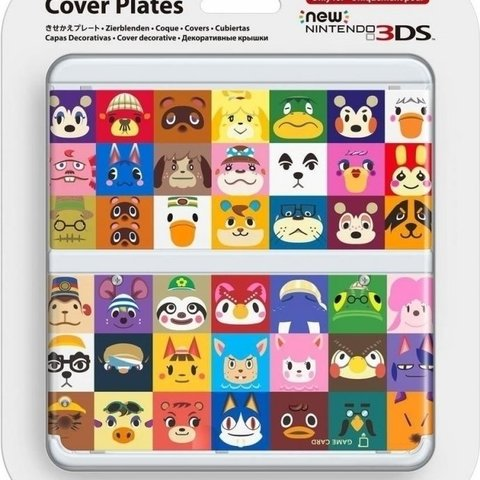 Cover Plate NEW Nintendo 3DS - Animal Crossing Happy Home Designer