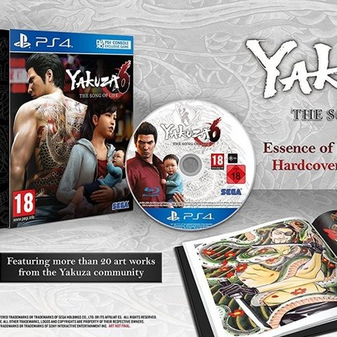 Yakuza 6: The Song of Life (Essence of Art Edition)