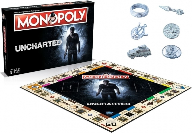 Uncharted Monopoly Edition