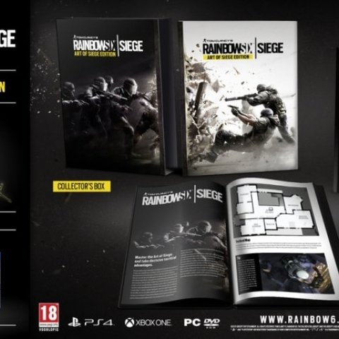 Rainbow Six Siege Art of Siege Edition