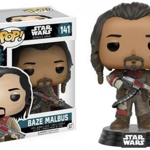 Star Wars Rogue One Pop Vinyl: Baze Malbus