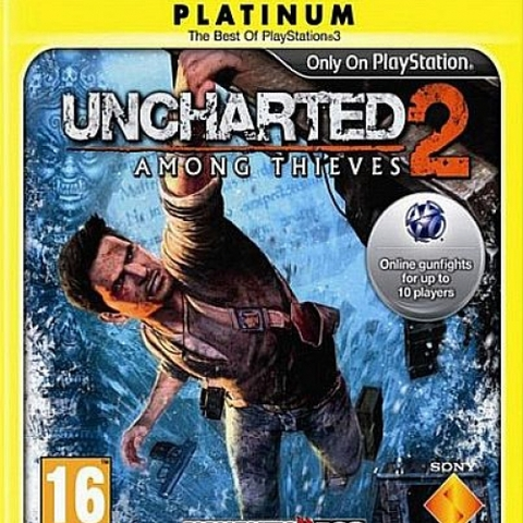 Uncharted 2 Among Thieves (platinum)