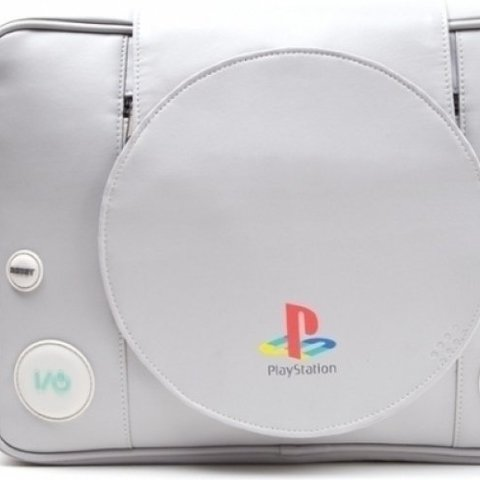 Playstation Shaped Messenger Bag (schade aan product)