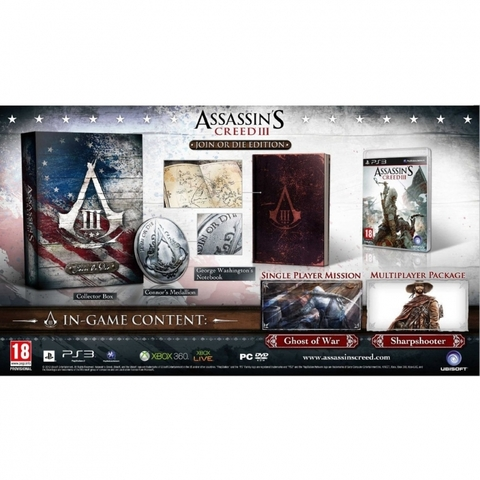 Assassin's Creed 3 Join or Die Edition