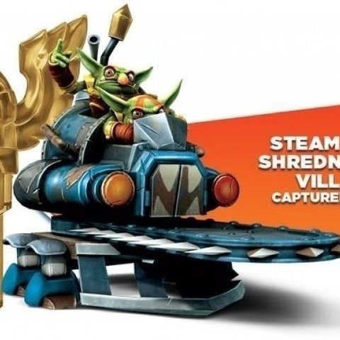 Skylanders Trap Team - Tech Trap (Steampunk Shrednaught Villain Inside)