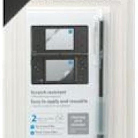 DSi Screen Protective Filter + Stylus Fit