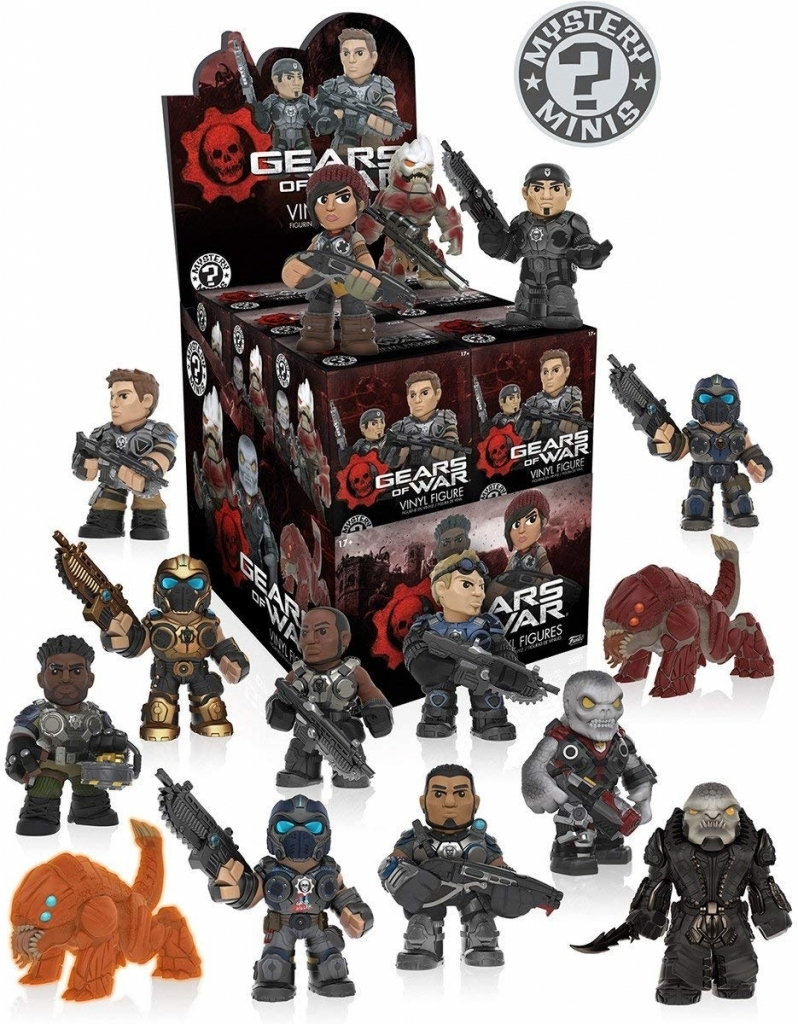 Gears of War Mystery Mini Vinyl Figure