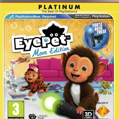 EyePet (Move Edition) (platinum)