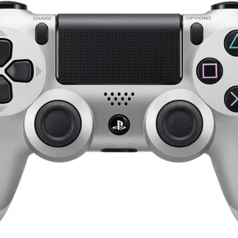 Sony Dual Shock 4 Controller (Silver)
