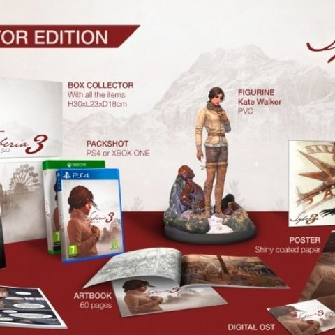 Syberia 3 Collector's Edition
