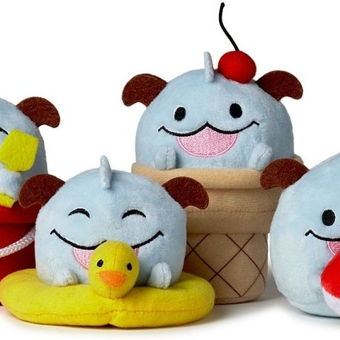 League of Legends Pluche Summer Poro 4-Pack