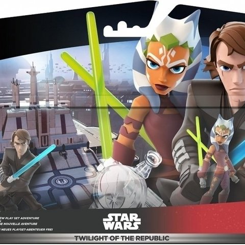 Disney Infinity 3.0 Twilight of the Republic Play Set Pack