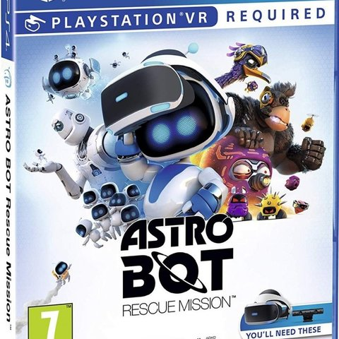 Astro Bot Rescue Mission (PSVR required)