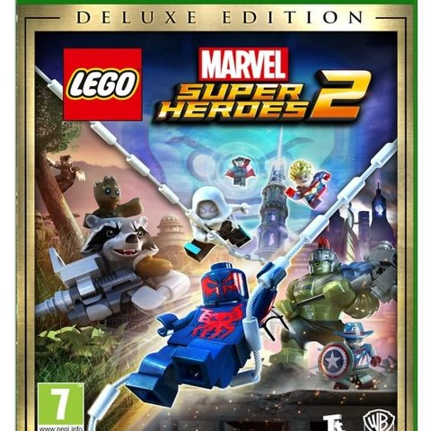LEGO Marvel Super Heroes 2 (Deluxe Edition) + Lego Mini Figure