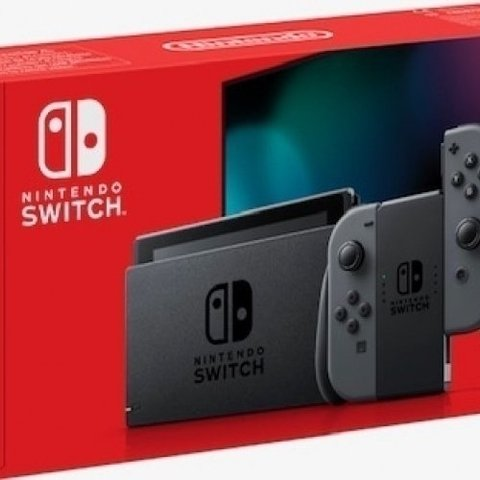Nintendo Switch (2019 upgrade) - Grey