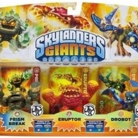 Skylanders Giants 3 Pack Lightcore (Prism Break/Eruptor/Drobot)