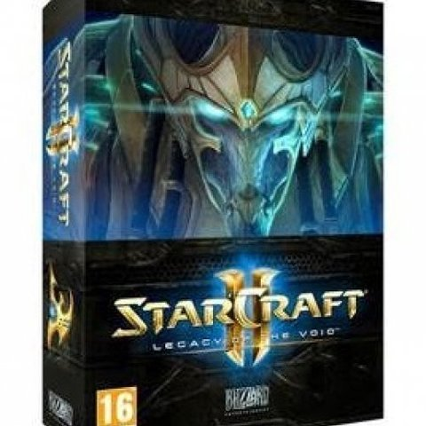 Starcraft 2 Legacy of the Void Collector's Edition