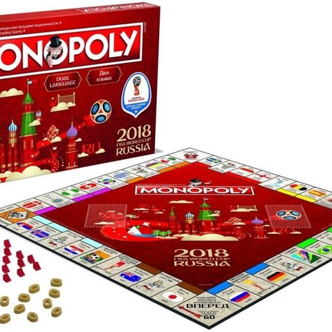2018 FIFA World Cup Russia Monopoly