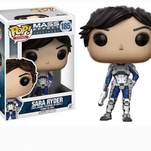 Mass Effect Andromeda Pop Vinyl Figure: Sara Ryder