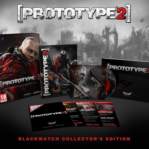 Prototype 2 Blackwatch Collector's Edition