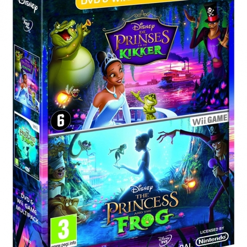 The Princess and the Frog with DVD