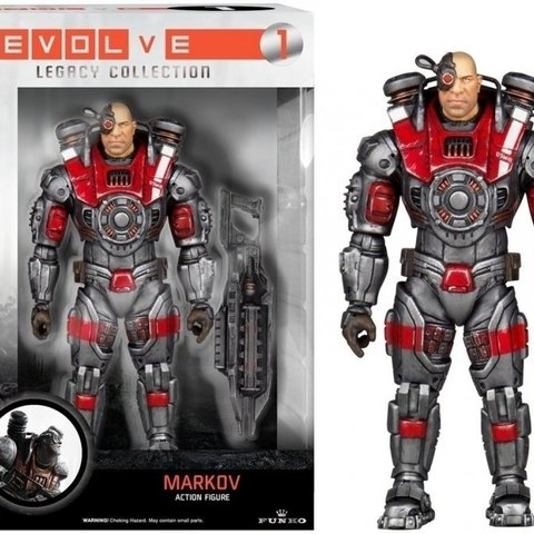Evolve Legacy Action Figure - Markov