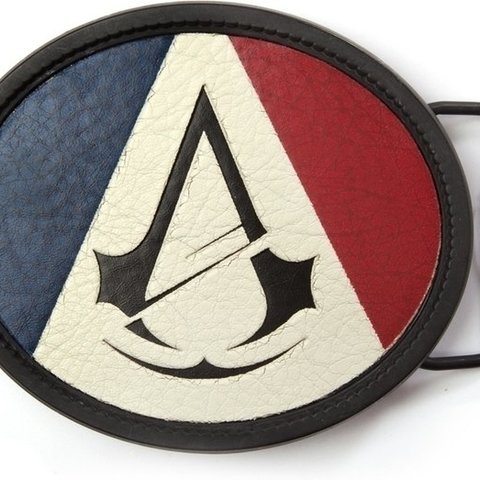 Assassin's Creed Unity - Oval Belt Buckle with Logo
