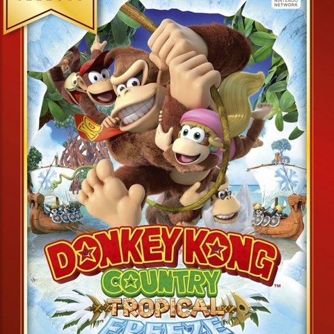 Donkey Kong Country Tropical Freeze (Nintendo Selects)