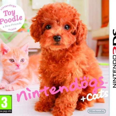 Nintendogs + Cats Toy Poodle
