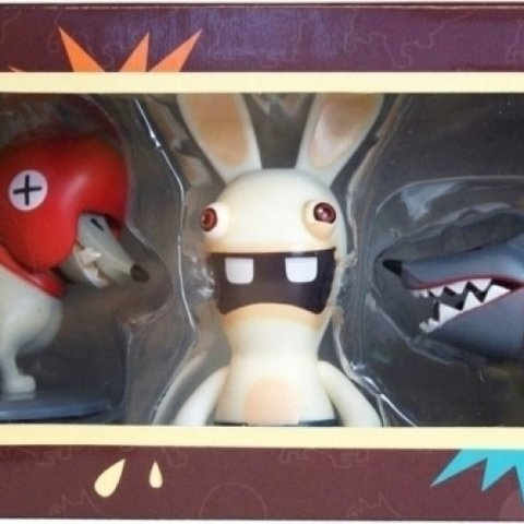 Raving Rabbids Dog 3 Pack