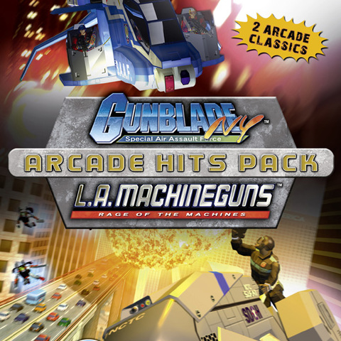 Gunblade New York & L.A. Machine Guns Arcade Hits Pack