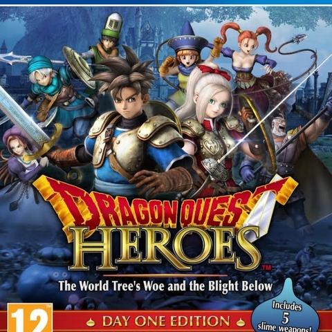 Dragon Quest Heroes the World Tree's Woe and The Blight Below (Day One Edition)