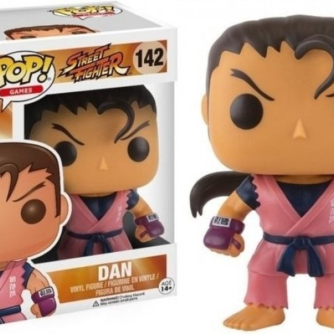 Street Fighter Pop Vinyl: Dan