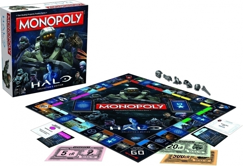 Halo Monopoly Collector's Edition