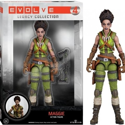 Evolve Legacy Action Figure - Maggie