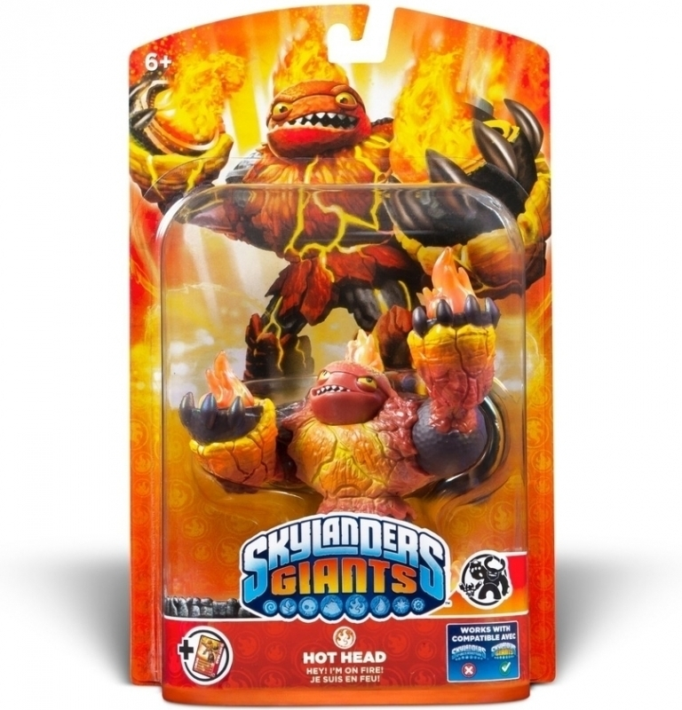 Skylanders Giants - Hot Head