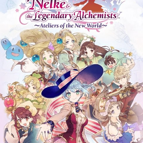 Nelke & the Legendary Alchemists Ateliers of the New World
