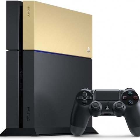 Sony PS4 Custom Faceplate - Gold