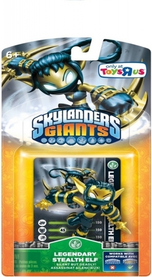 Skylanders Giants - Legendary Stealth Elf