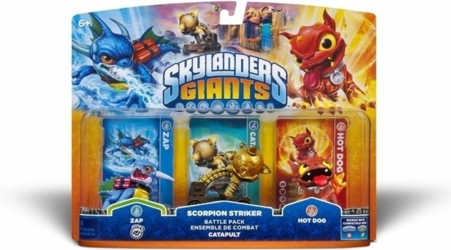 Skylanders Giants Scorpion Striker Battlepack