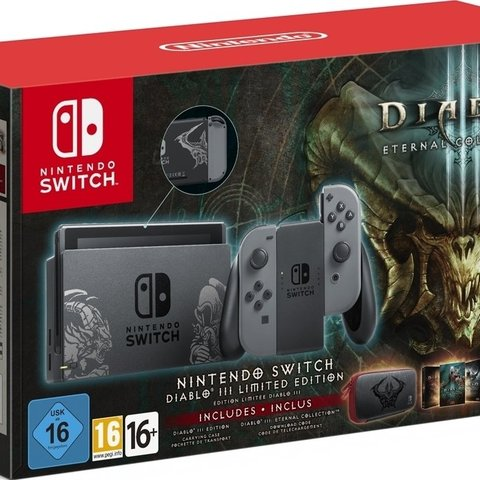 Nintendo Switch Limited Edition Diablo 3 Bundle